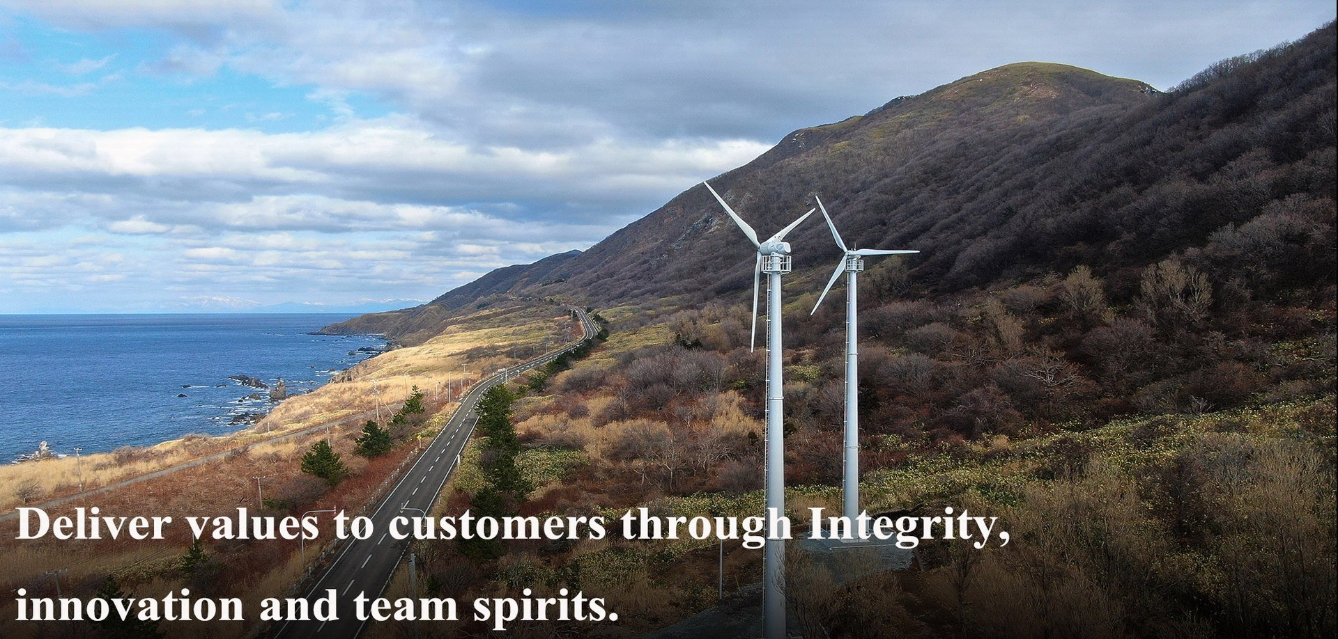 100KW wind turbine